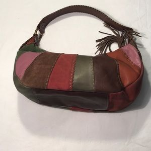 Fossil Vintage Patchwork Leather Purse